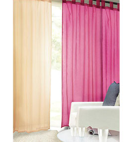 dyed dolly curtain